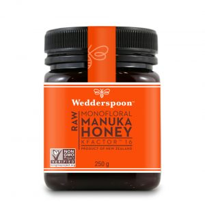 Wedderspoon Manuka Honey KFactor 16 250g