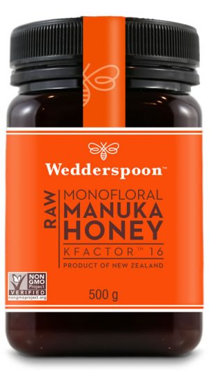 Wedderspoon Manuka Honey KFactor 16 500g