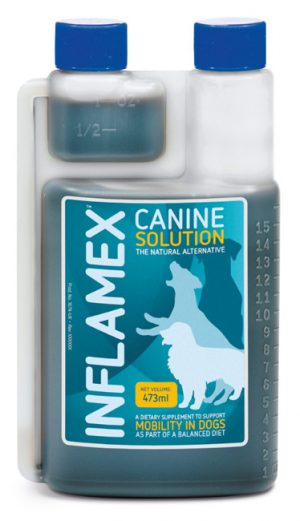 Canine Inflamex Solution joint supplements for Dogs